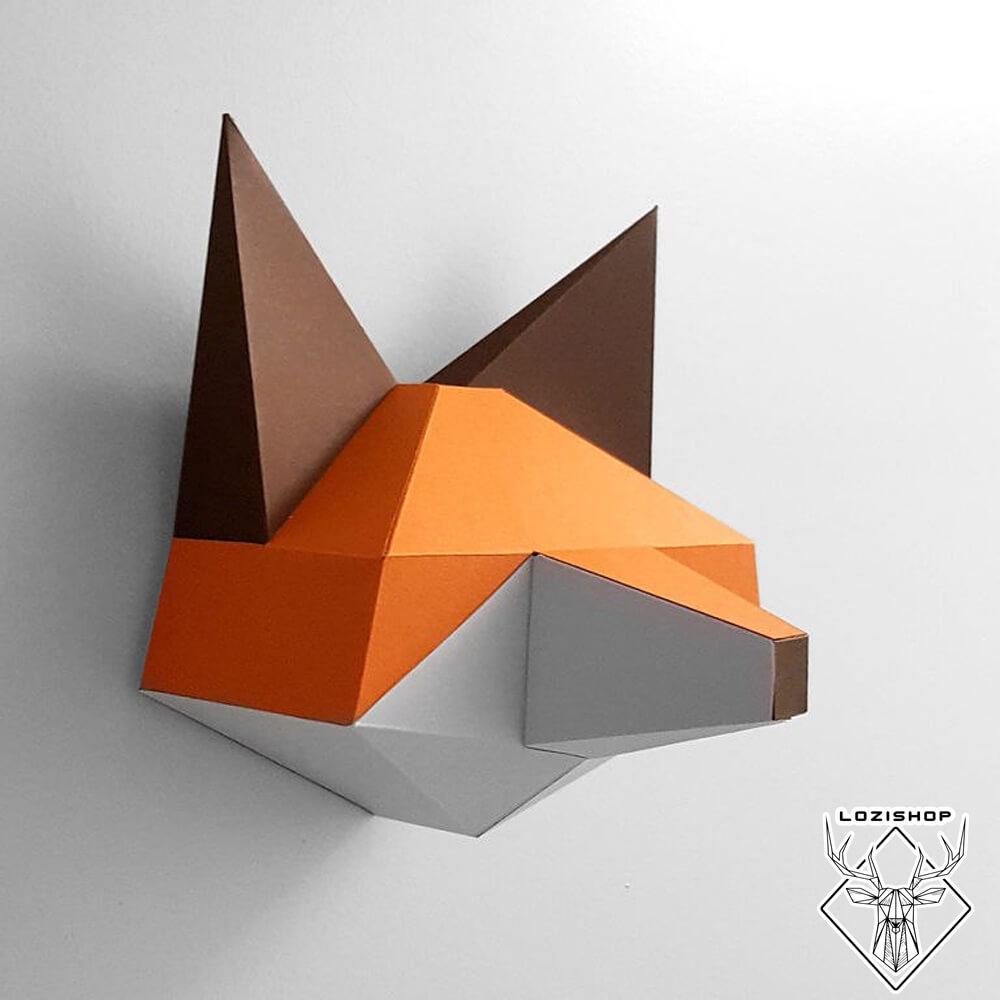 تابلو دیواری روباه