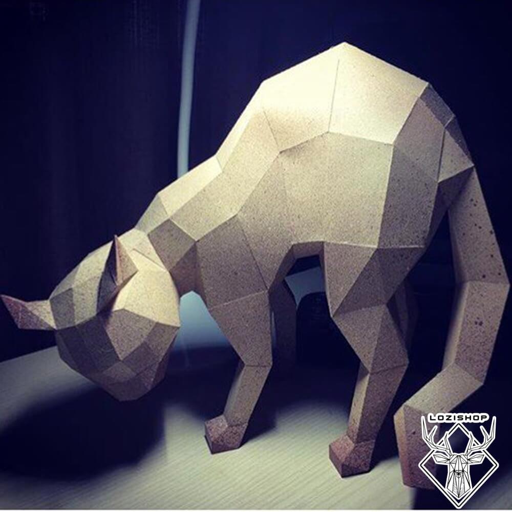 مجسمه گربه